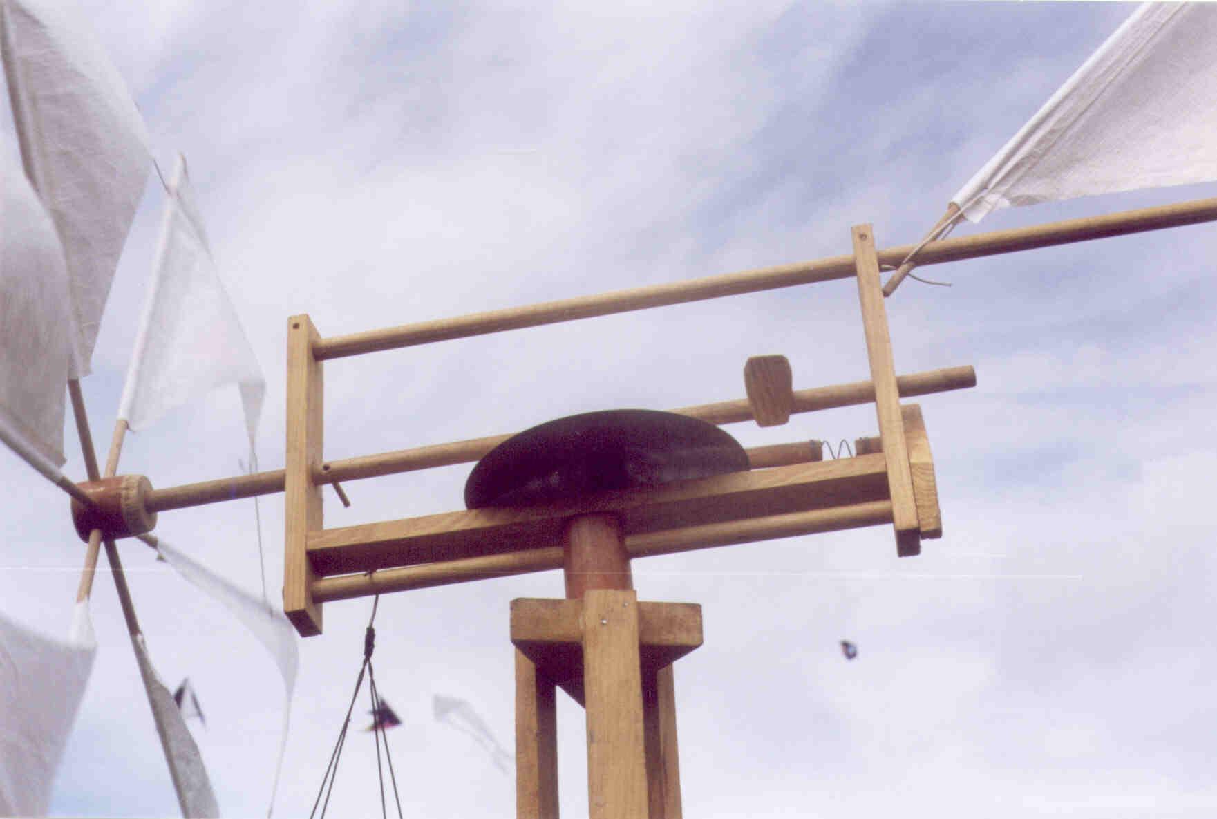 Exemples de moulins - Moulin a vent en bois a fabriquer ...