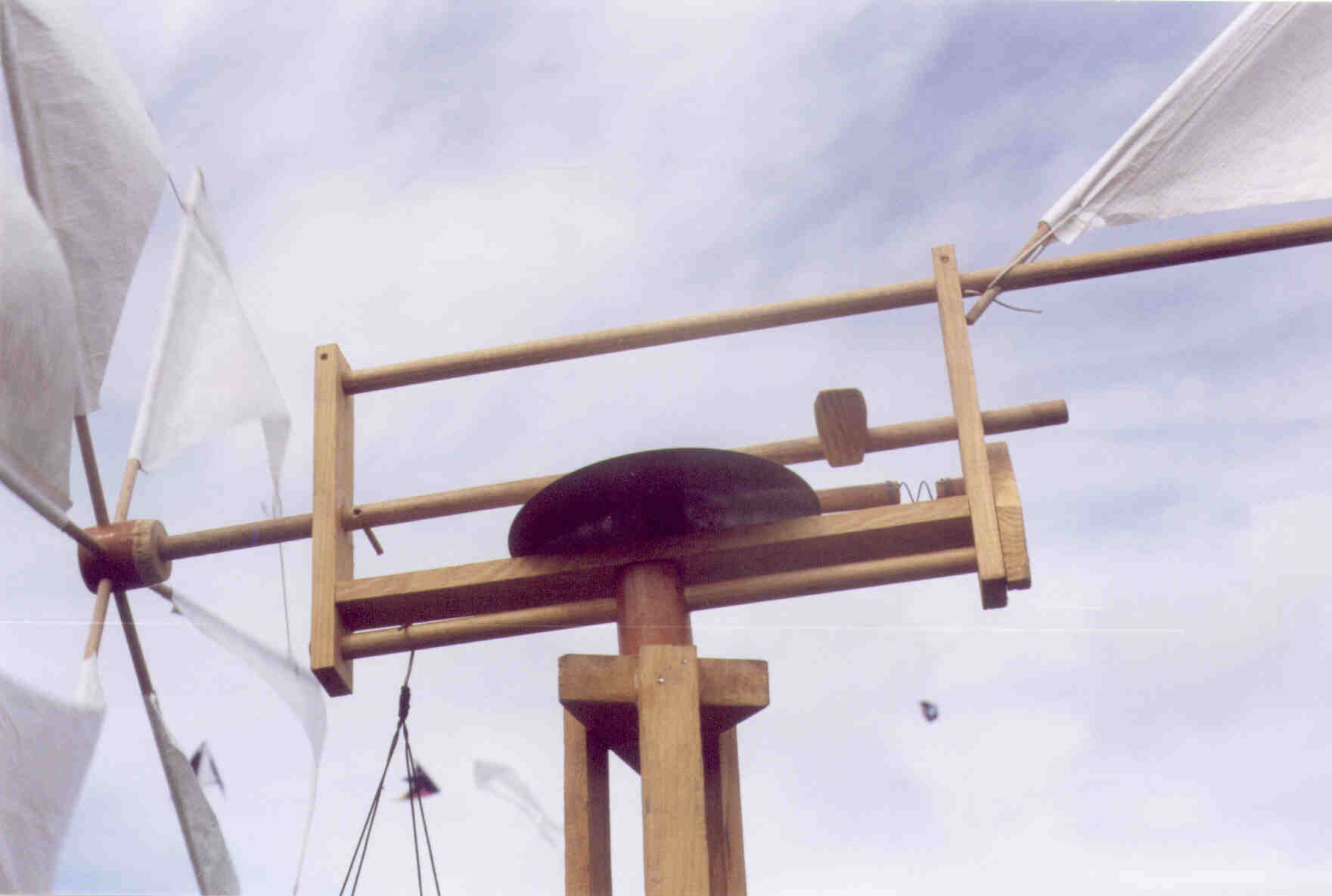 Pr sentation des moulins for Moulin en bois pour jardin